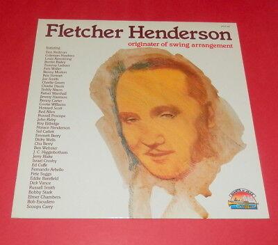 Fletcher Henderson -- Originater of swing arrangement   -- LP