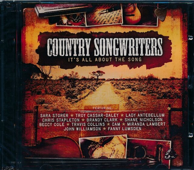 Country Songwriters 2-disc CD NEW Sara Storer Cassar-Daley Beccy Cole Lumsden