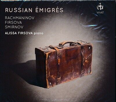Russian Emigres Cd New Alissa Firsova On Piano Rachmaninov Smirnov
