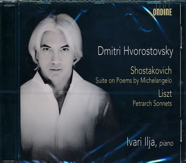 Dmitri Hvorostovsky Ivaris Ilja piano CD NEW Shostakovich Suite on Poems