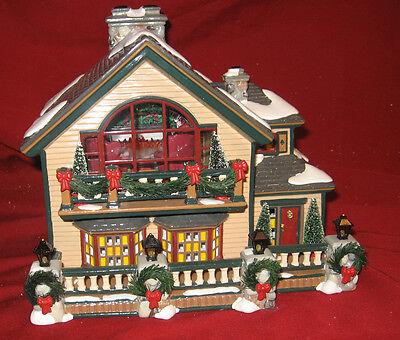 Department 56 Original Snow Village-Christmas Lake Chalet Shop # 56-55061-NIB