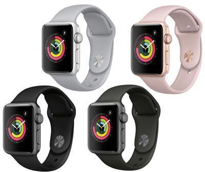 Apple Watch Series 3 - 38/42MM - Aluminum - Sport Band - (GPS + Cellular Data)