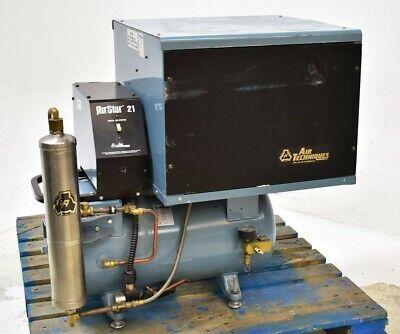 Air Techniques Airstar 21 Dental Air Compressor Unit Quiet - For Parts