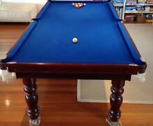 Quality Pool Table blue 8'x4' beautiful condtn All accessories Coogee Eastern Suburbs Preview