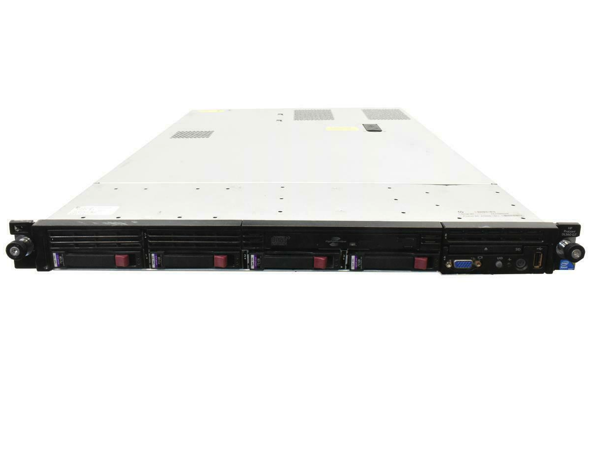 HP ProLiant DL360 G7 Rack Server X5640 Quad Core 2.66GHz 16GB RAM 4x146GB HDD