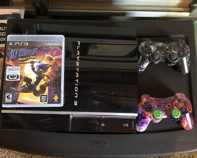 Playstation 3 60gb cechlo1 Consle, Two Controllers and Game