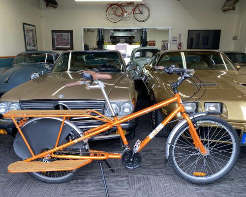 "Yuba Mundo Cargo Bicycle Parts Lot -- ""Hold On Bars"" + ""Leg Up"" + ""Towing Tray"""