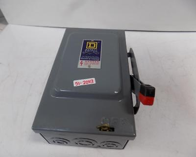 Square D 30amp Safety Switch Series D2 H321