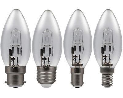 Halogen Energiespar Glühbirne Kerze 20w 30w 46w E14 B22 E27 B15 Leuchtmittel online kaufen