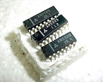 Lot Of Mitsubishi Ics An5429 An5325 An5320