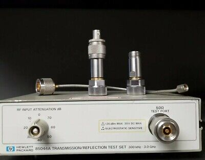 Hp 85044a Transmission Reflection Test Set 3.0 Ghz 300 Khz With Hardware