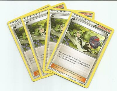 4X N 105/124 Trainer XY Fates Collide Pokemon Card Near Mint