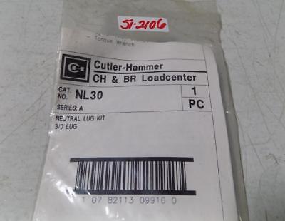 Cutler-hammer Neutral Lug Kit Series A Nl30 Nib