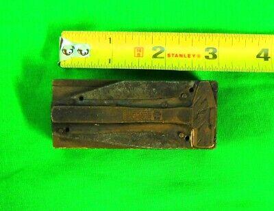 Letterpress Copper Vintage Germantown Tool Works Hammer
