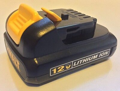 NEW Genuine DEWALT DCB120 12V 12 Volt MAX Lithium-Ion Battery Pack (Dewalt 12 Volt Lithium Battery)