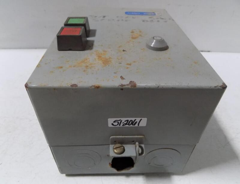 JOSLYN CLARK MOTOR STARTER ENCLOSURE ON OFF DISCONNECT