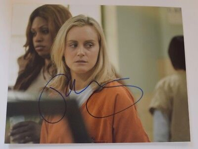 Taylor Schilling Signed Autographed 11X14 Photo Orange Is The New Black Coa Vd