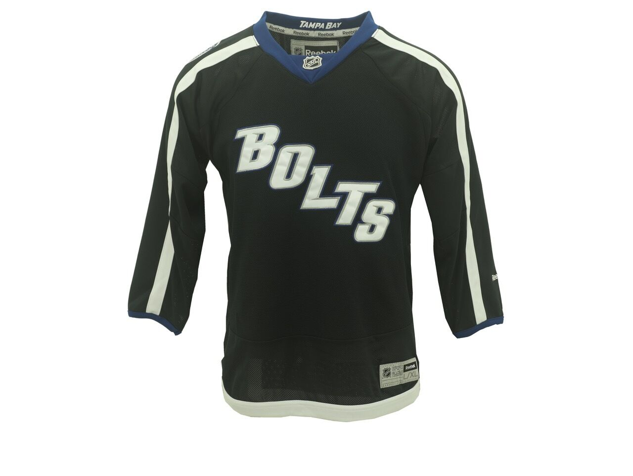 aa410056 Details about NHL Kids Youth Size Tampa Bay Lightning Reebok Alternate  Jersey New With Tags