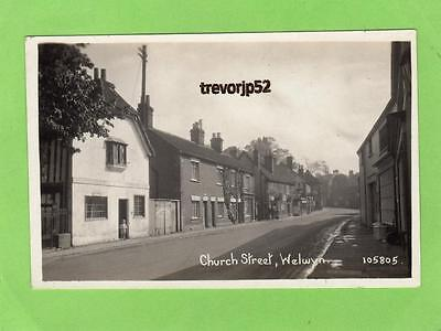 Church Street Old Welwyn unused RP pc Ref A714