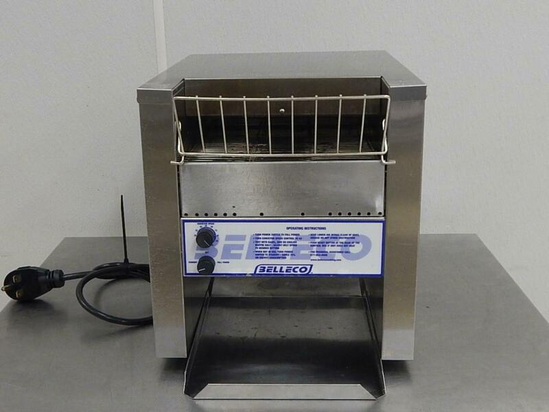 Vollrath Belleco Conveyor Bagel Toaster, Model JT2-B