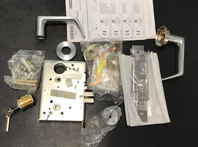 Schlage L94565796 Wp Dormitory Exit Lock With Cylinder And Keyssdl-1