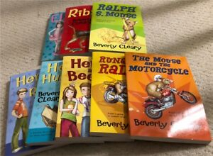 8 Beverly Cleary Books - New
