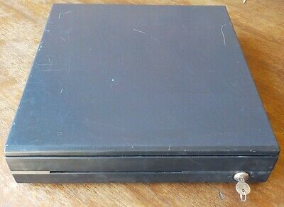 Used Logic Controls Cr3000e-gy Pos Cash Drawer With Key And Insert Retail