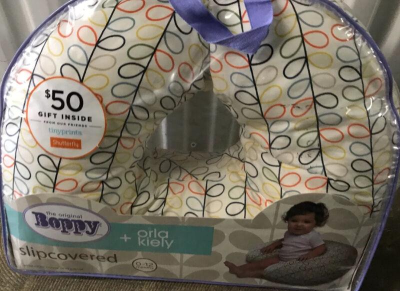 New Boppy Pillow and Orla Kiely Slipcover Nursing Pillow