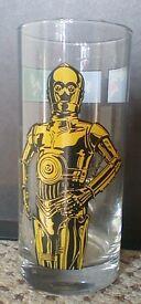Star Wars drinking glass