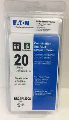 Cutler Hammer Brcaf120cs 20a Arc-fault Afci Breaker New In Package