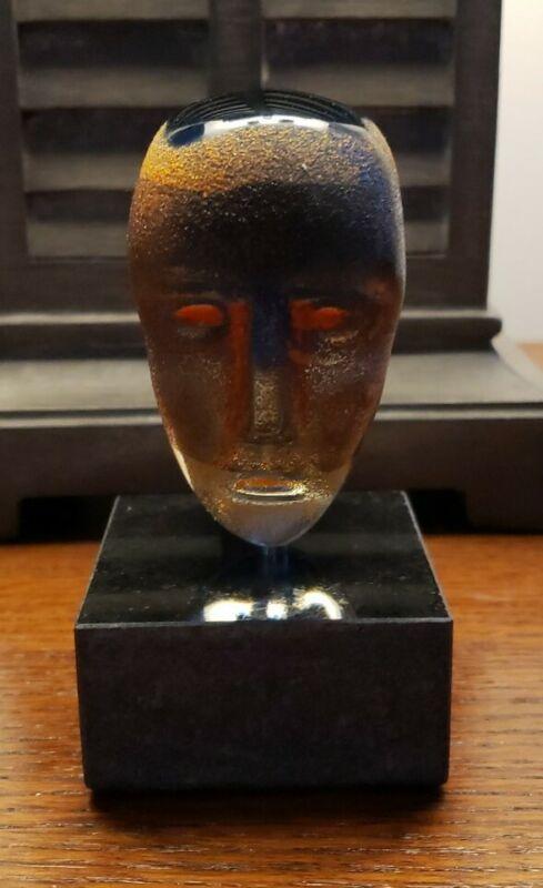 Kosta Boda Brains On Stone Bertil Vallien Perfect Condition