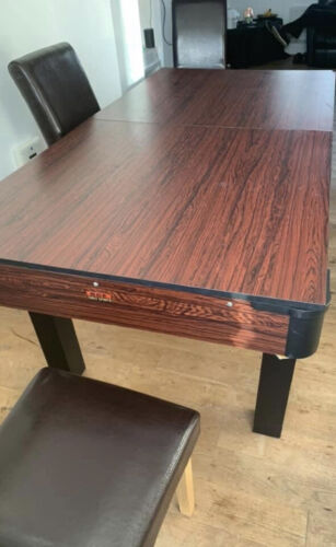 pool dining table 6ft