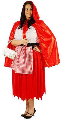 Rotkäppchen Kostüm Märchen Alle Übergrößen - Übergröße Rotkäppchen Kostüm
