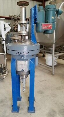 5 Gallon Stainless Steel Reactor Built By Brighton. 316 Stainless Steel 300 Psi