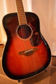 Yamaha Acoustic Guitar FG730S with Fishman Ellipse Blend Pickup