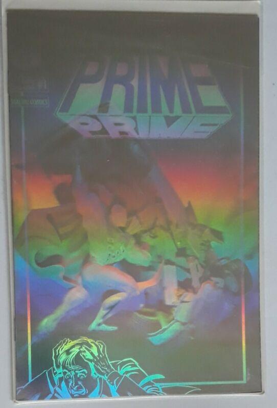 Malibu comics ultraverse prime #1 holographic limited edition bagged/boarded (W)