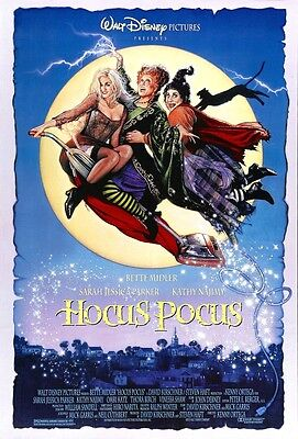 HOCUS POCUS movie poster print  : 11 x 17 inches BETTE MIDLER
