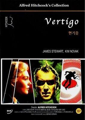Vertigo (1958) Alfred Hitchcock [DVD] FAST SHIPPING