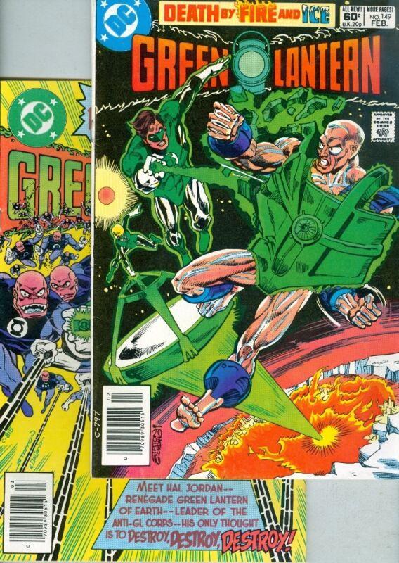 Green Lantern #149 and #150