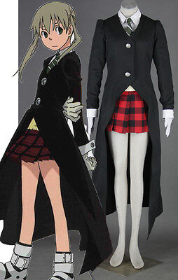 SOUL-EATER Maka Albarn Cosplay costume Kostüm set manga neu new cartoon (Maka Albarn Kostüm)