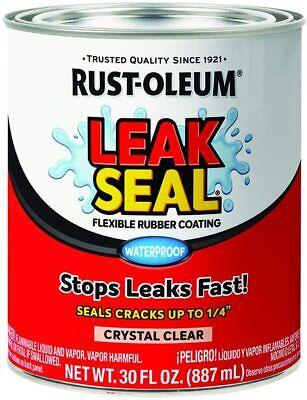 Flexible Rubber Waterproof Coating Sealant Camper Roof Water Leak Crack Sealer