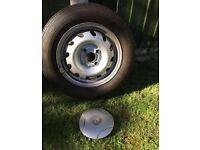 5 Vauxhall corsa 13inch wheels