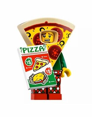 LEGO MINIFIGURES (71025) - Series 19 - PIZZA COSTUME GUY - New & Sealed!