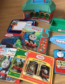 Thomas and friends toys and book bundle