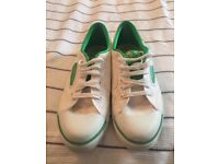 Dunlop Green Flash Classic Trainer Size 7