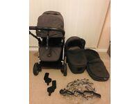Mamas and papas armadillo flip pushchair/ travel system