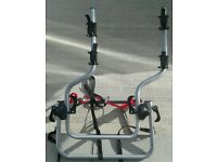 4x4 Halfords spare wheel bike rack