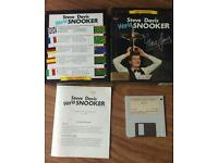 Steve Davis world snooker Amiga game