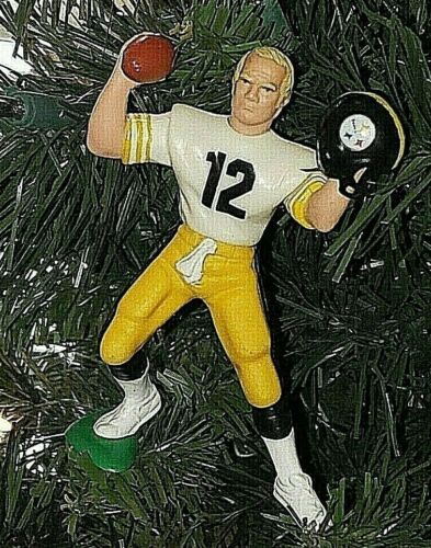 Terry Bradshaw Pitttsburgh Steelers Football NFL xmas ornament HOLIDAY 12 jersey