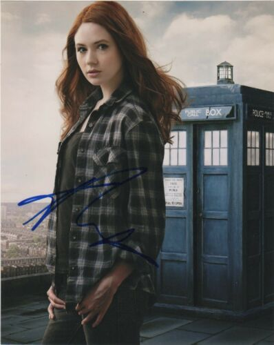 Karen Gillan Doctor Who Autographed Signed 8x10 Photo COA